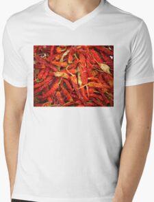 chili Mens V-Neck T-Shirt