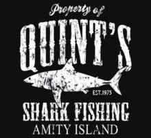 Retro Quint's Shark Fishing Kids Tee