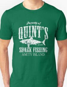 Retro Quint's Shark Fishing T-Shirt