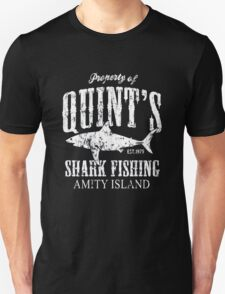 Retro Quint's Shark Fishing Unisex T-Shirt