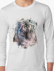 Painted Tiger  Long Sleeve T-Shirt