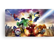 Lego Super Heroes Canvas Print
