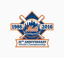 NEW YORK METS 30TH ANNIVERSARY WORLD CHAMPIONSHIP Unisex T-Shirt