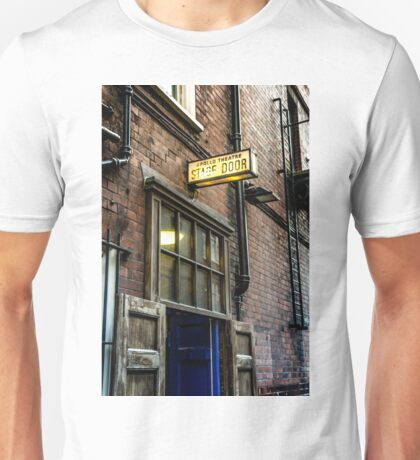 stage door Unisex T-Shirt