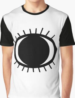 Simple Eye Drawing Graphic T-Shirt