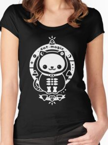 Cat Magic Women's Fitted Scoop T-Shirt
