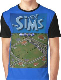 The Sims 1 - Neighborhood Graphic T-Shirt