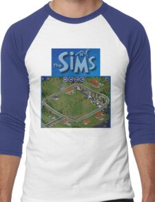 The Sims 1 - Neighborhood Men's Baseball ¾ T-Shirt