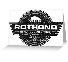 Rothana Heavy Engineering Greeting Card