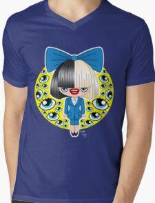 Chibi Sia SNL Mens V-Neck T-Shirt