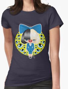 Chibi Sia SNL Womens Fitted T-Shirt