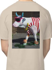 Painted Cow on Holiday - at Floriade Classic T-Shirt