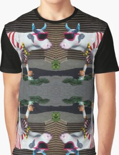 Painted Cow on Holiday - at Floriade Graphic T-Shirt
