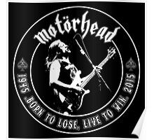 Motorhead (Born to lose) Poster