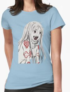 Shiro happy Womens Fitted T-Shirt