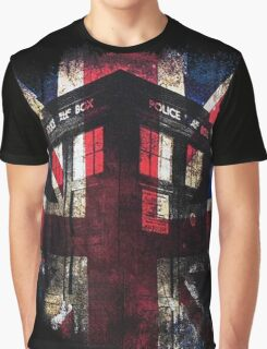 Dr. Who - Union Jack Graphic T-Shirt