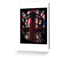 Dr. Who - Union Jack Greeting Card