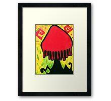 Mexican Culture Shroom Framed Print