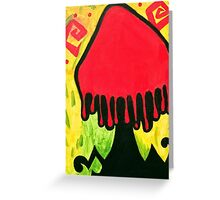 Mexican Culture Shroom Greeting Card
