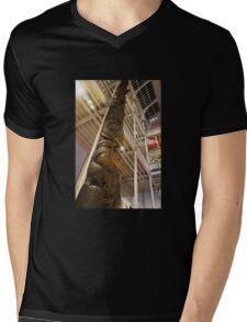Tall Totem Mens V-Neck T-Shirt