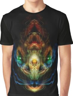 Dragon Face With Smoke Graphic T-Shirt