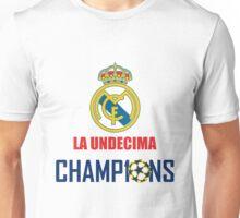 UNDECIMA REAL MADRID CHAMPIONS 2016 Unisex T-Shirt