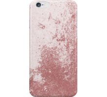 Earth Sweat Design (Dusty Cedar Color) iPhone Case/Skin