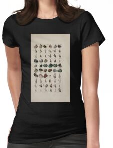 Index testaceologicus an illustrated catalogue of British and foreign shells 016 Womens Fitted T-Shirt