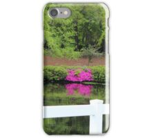 Beauty By The White Fence iPhone Case/Skin