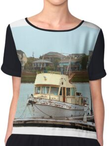 Rusty Old Boat Chiffon Top