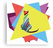 Yarn cat Canvas Print