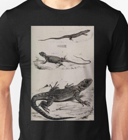 Proceedings of the Zoological Society of London 1848 - 1860 V4 Reptilia 028 Unisex T-Shirt