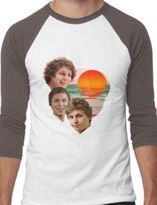 3 Cera Sunset Men's Baseball ¾ T-Shirt