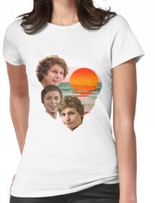 3 Cera Sunset Womens Fitted T-Shirt