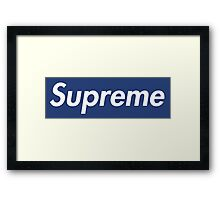 Supreme Yankees Framed Print