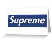 Supreme Yankees Greeting Card