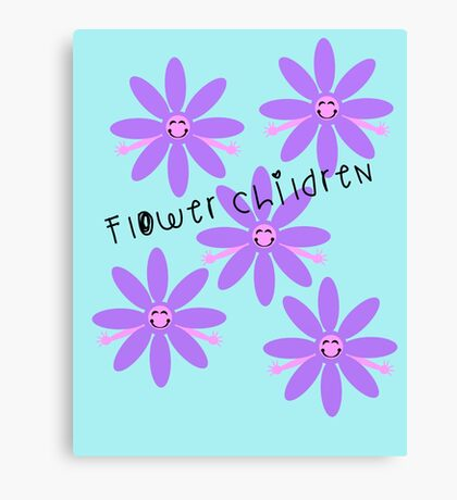 Flower Children   Canvas Print