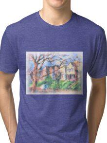 HOUSES Tri-blend T-Shirt
