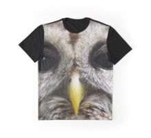 Barred Owl Close Up Graphic T-Shirt