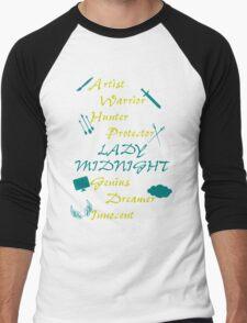 Lady Midnight Character Nick Names Men's Baseball ¾ T-Shirt
