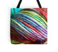 Colorful Yarn Skein for knitters Tote Bag