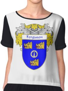 Ferguson Coat of Arms/Family Crest Chiffon Top