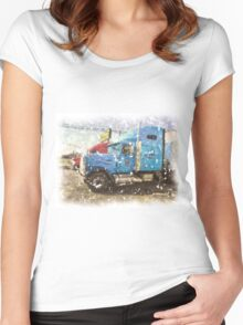 BIG RIG Women's Fitted Scoop T-Shirt