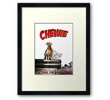 Chewie the Dog Framed Print