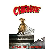 Chewie the Dog Photographic Print