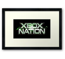 Xbox Nation Framed Print