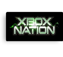 Xbox Nation Canvas Print