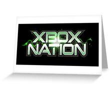 Xbox Nation Greeting Card