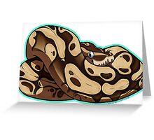 Mojave Ball Python Greeting Card