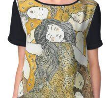 Inspired by Klimt Chiffon Top